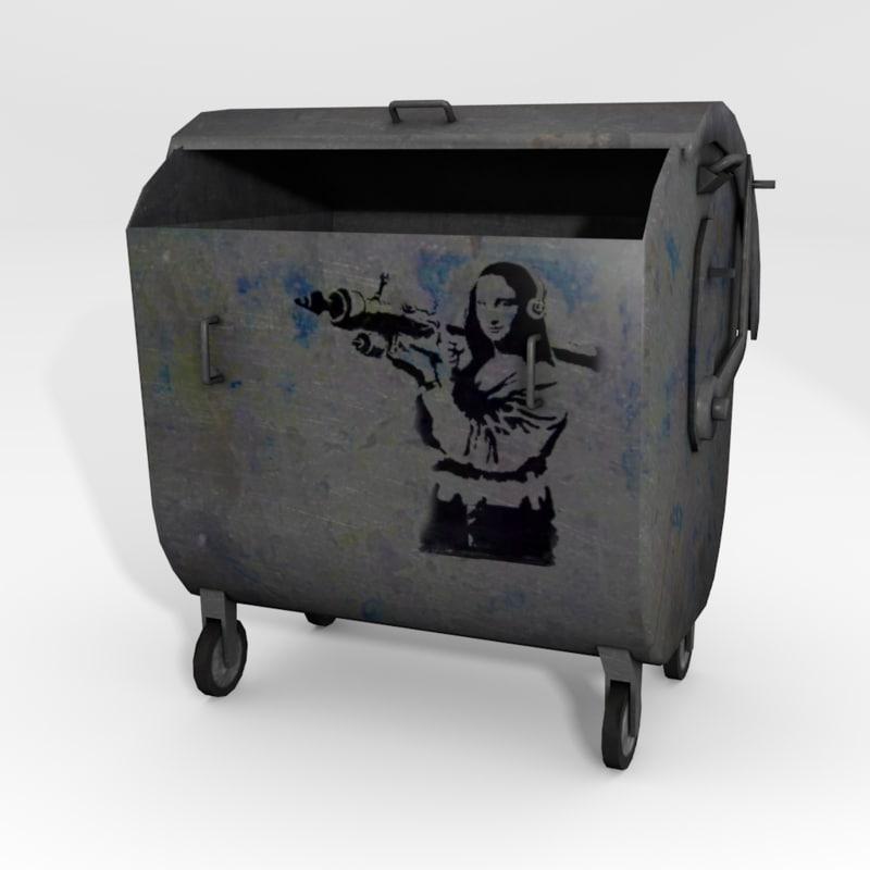 3d dustbin