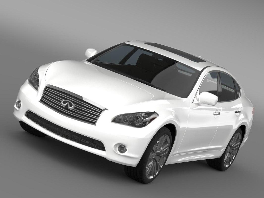 3d infiniti m56 y51 2013 model