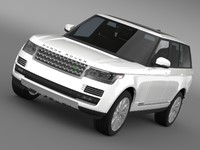 3ds max landrover rangerover hse td6