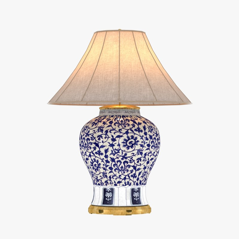 3d max table lamp marlena large