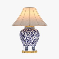 Ralph Lauren MARLENA LARGE TABLE LAMP IN BLUE AND WHITE
