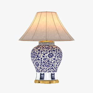 3d max table lamp marlena large