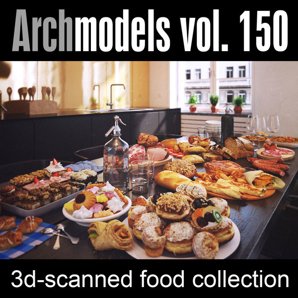 max archmodels vol 150 food