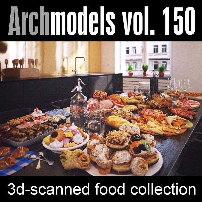 max archmodels vol 150 food