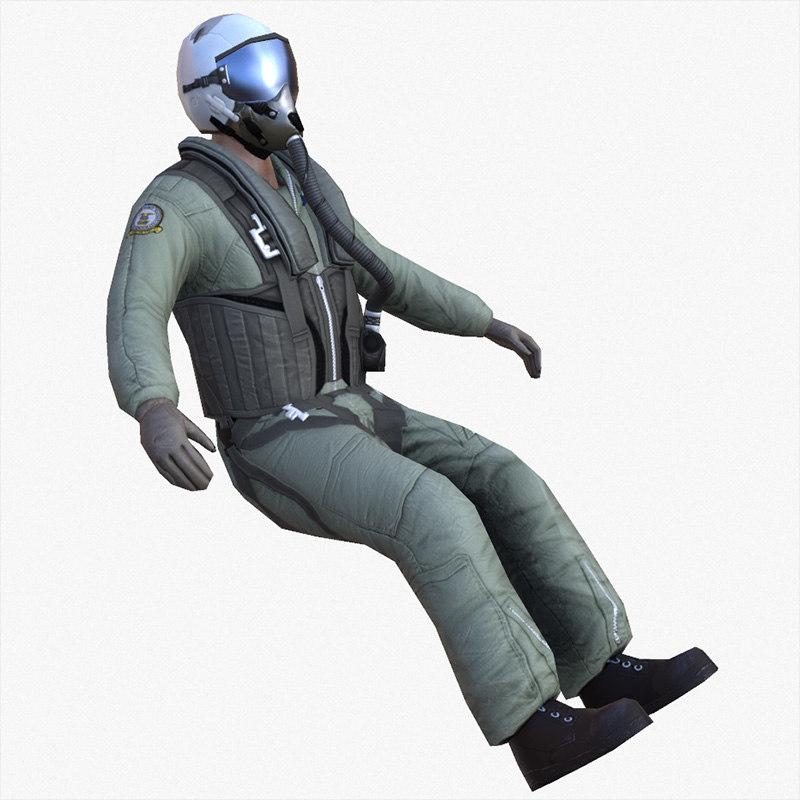 c4d jet pilot