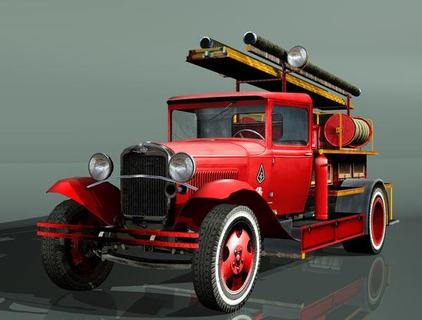 gaz-aa truck pmg-1 max