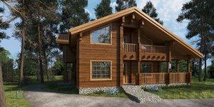 house cottage 3d 3ds