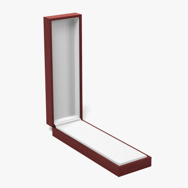 3d jewellery box model
