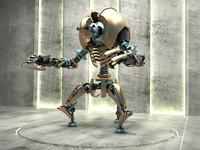 robot b7x06 3d max