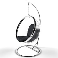 3d modern bubble chair model