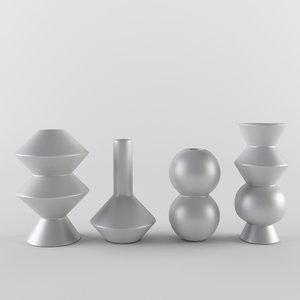 vase geometry 3d 3ds