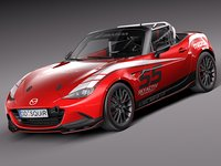 Mazda MX-5 2016 CUP Race Car