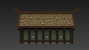 longhouse norse 3d max