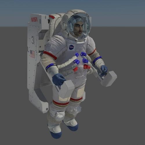 rig nasa apollo space suit max