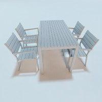 3d model ikea falster garden furniture