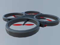 3dsmax copter quad quadcopter