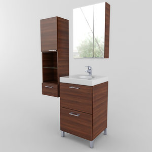 max bathroom furniture set 04