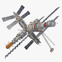 space station 3D models