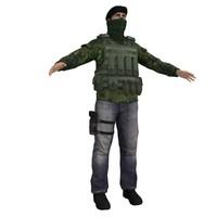 ira soldier 3d max