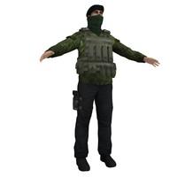 3d ira soldier model