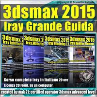 3ds max 2015 Iray La Grande Guida CD front