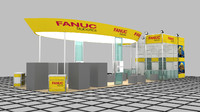 3d fanuc exhibition design