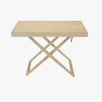 mk98860 folding table 3d model