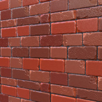 Stylized Brick Wall