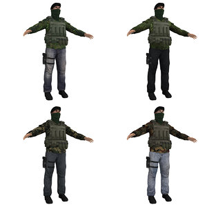 pack ira soldier 3d max