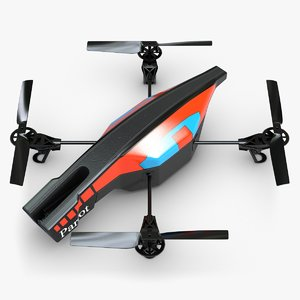 quadrocopter ar drone 2 3d model