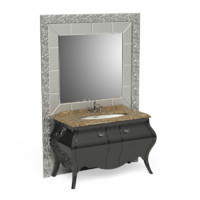 Eurodesign Prestige with mirror bathroom furniture