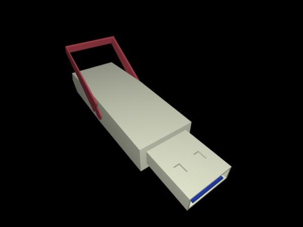3d pen drive model