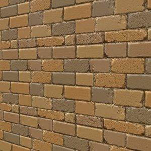 Stylized Sand Brick Wall