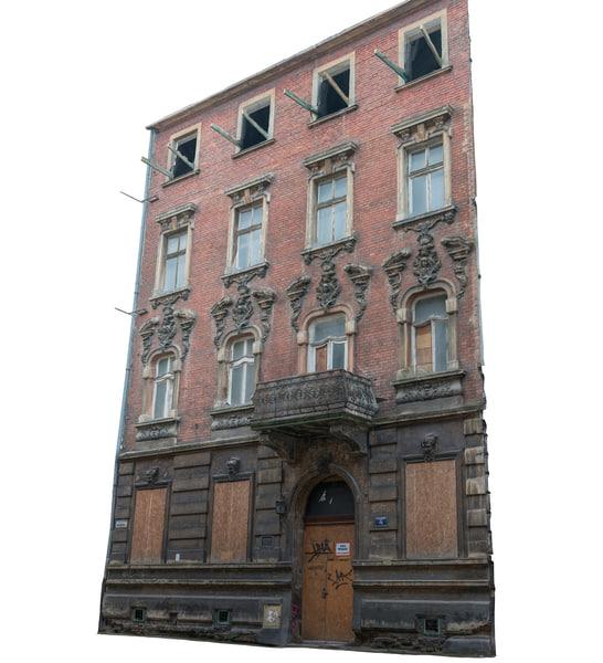 3ds max building facade