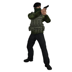 3ds max rigged ira soldier