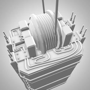 3d model of elevator