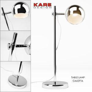 kare table lamp max