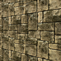 Jungle Stone Wall