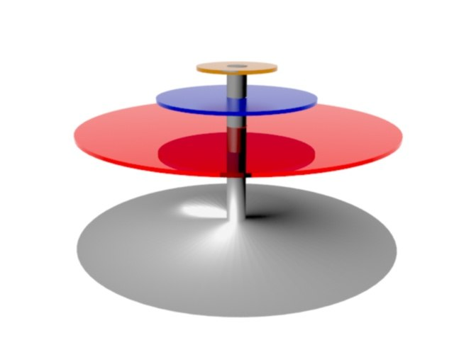 3d new table model