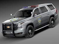 Chevrolet Tahoe PPV 2015 NYPD