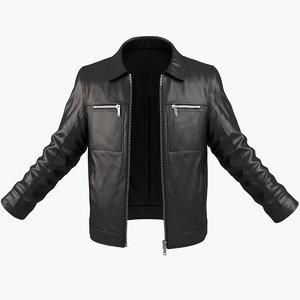 man jacket 3d model