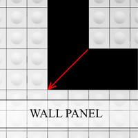 3dsmax wall panel