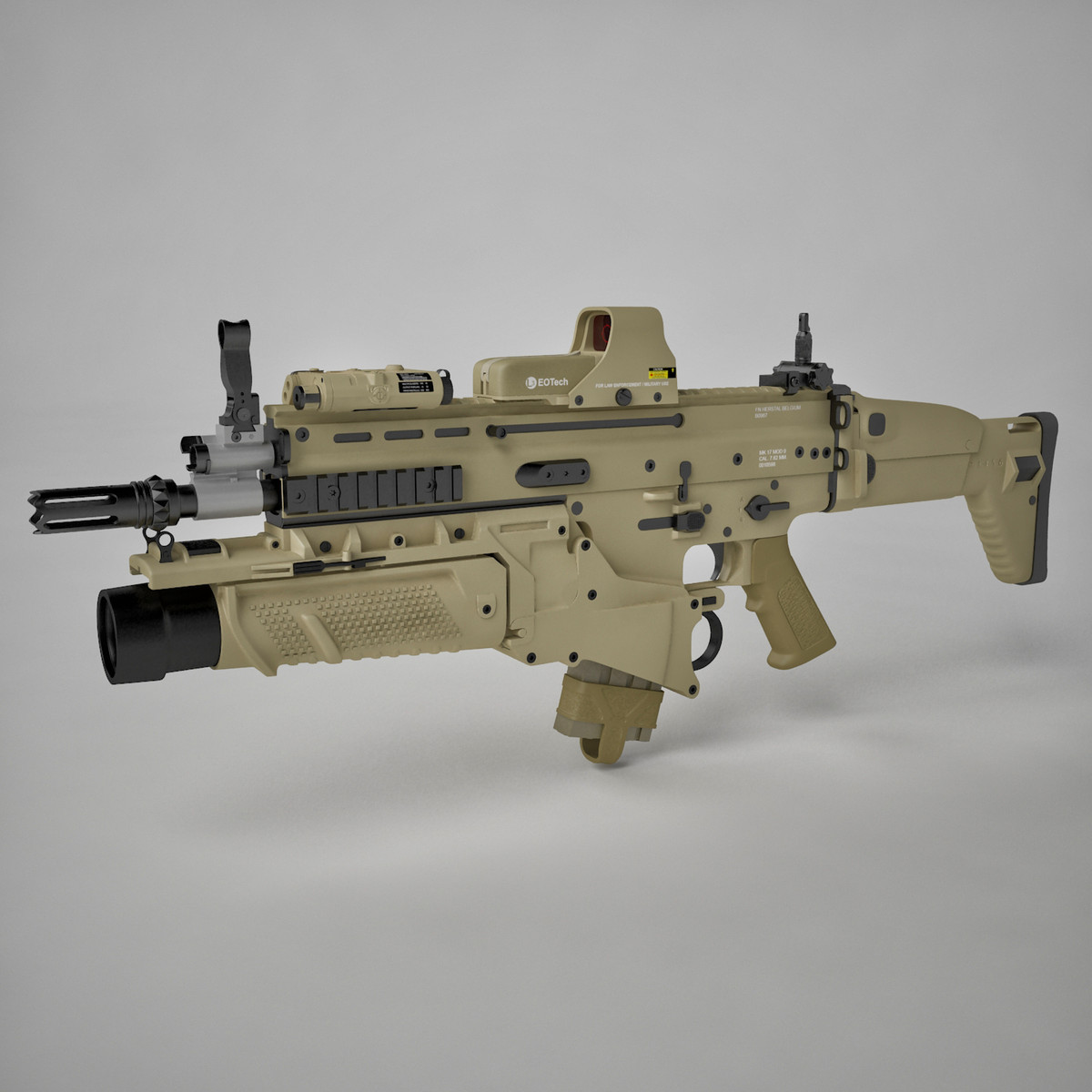 assault combat rifle max