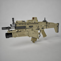 Combat Assault Rifle FN SCAR-H