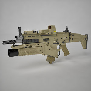 assault combat rifle max