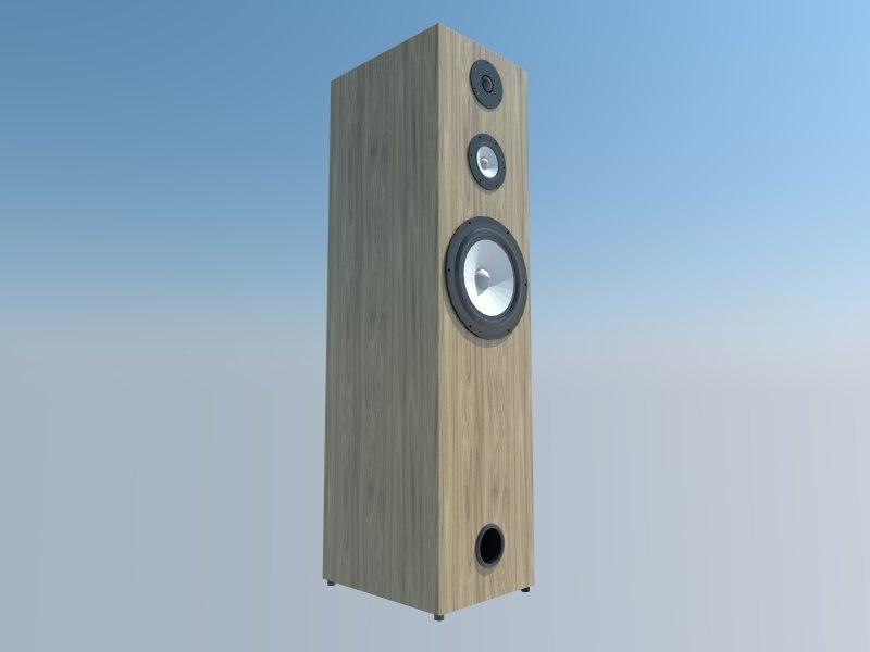 speaker 3d 3ds