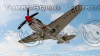 3d model p40 war hawk