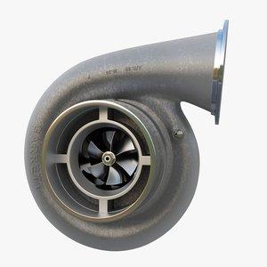 turbocharger compressor wheel obj