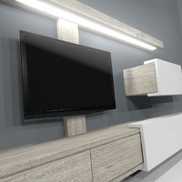 max furniture tv wall unit