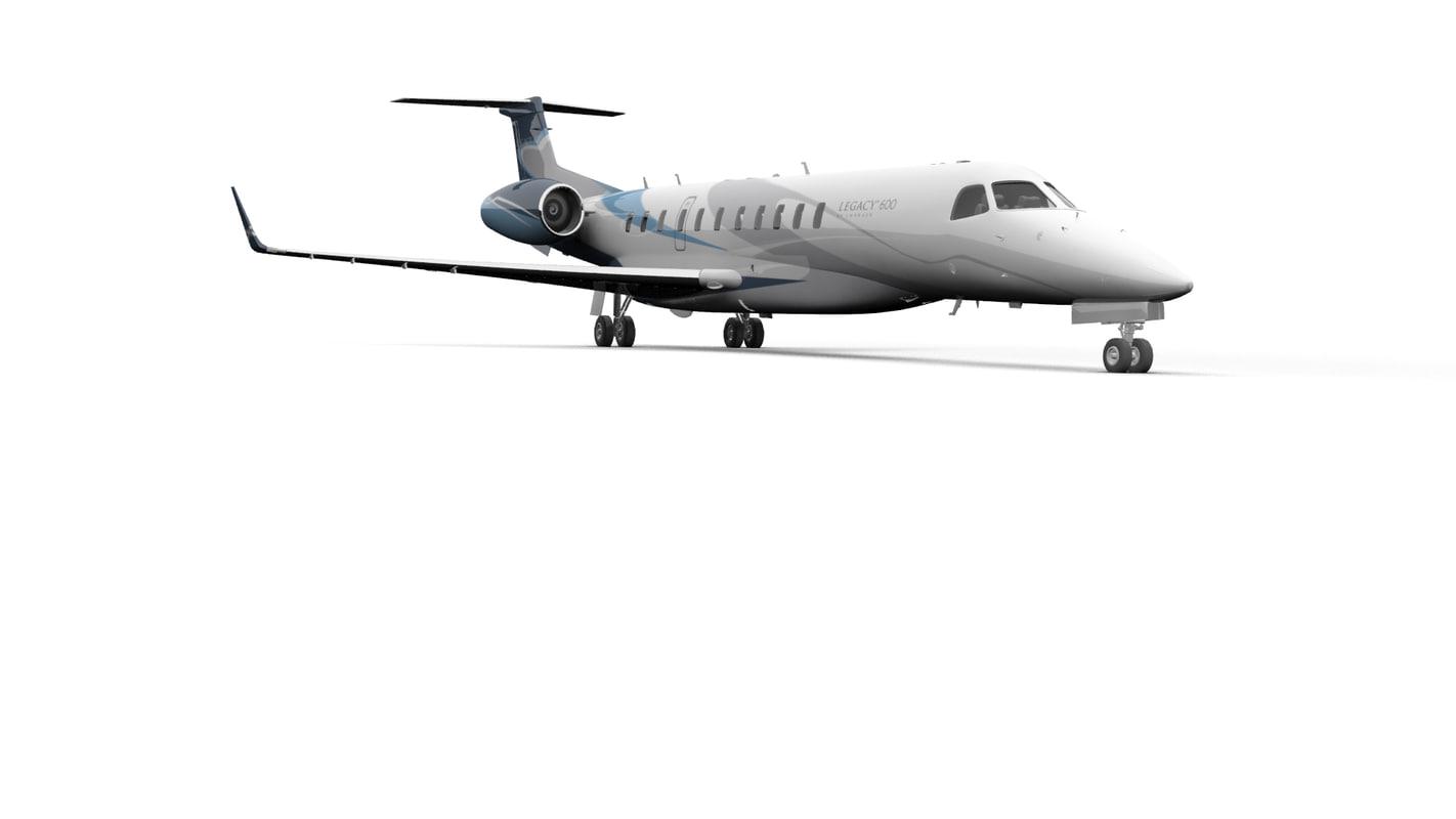 max embraer legacy 600